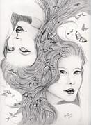 Gemini Print by Lorelei  Marie