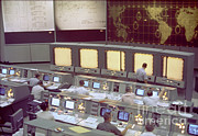 Mcc Prints - Gemini Mission Control Print by Nasa/Science Source