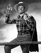 1998 Obituaries Posters - Gene Autry, C. 1940s Poster by Everett