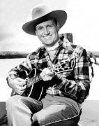 Autry Photos - Gene Autry, Ca. Late-1940s by Everett