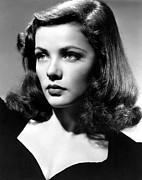 Publicity Shot Photos - Gene Tierney, C. Early 1940s by Everett