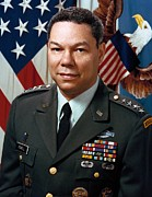 Uniforms Posters - General Colin L. Powell. Nov. 6 1989 Poster by Everett
