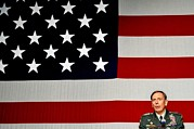 Uniforms Metal Prints - General David H. Petraeus Commander Metal Print by Everett