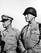 General Patton Posters - General Dwight Eisenhower, General Poster by Everett