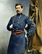 Brinton Framed Prints - GENERAL GEORGE McCLELLAN Framed Print by Granger