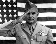 Featured Art - General James Doolittle Saluting by War Is Hell Store