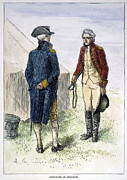 Redcoat Art - General John Burgoyne by Granger