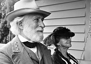 Civil War Battle Site Photos - General Lee and Mary Custis Lee by Thomas R Fletcher