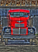 Gm Framed Prints - General Motors Truck Framed Print by Andrew Armstrong  -  Orange Room Images