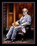 Robert E Lee Paintings - General Robert E. Lee by Ken Hendrickson