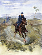 Cedar Creek Prints - General Sheridans Ride Print by Granger