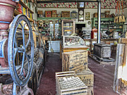 Grocery Store Photo Prints - General Store 2 - Virginia City Ghost Town - Montana Print by Daniel Hagerman