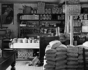 General Stores Prints - General Store Interior In Moundville Print by Everett