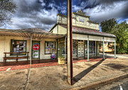 Town Character Prints - General Store Print by Wayne Sherriff