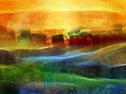 Abstract Composition Digital Art - Genesis III by Lutz Baar