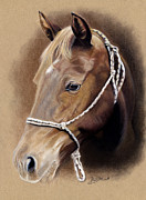 Riding Pastels - Gentle Friend by Jeanne Delage