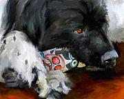 Toy Dog Paintings - Gentle Soul by Jai Johnson