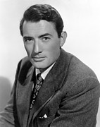 Colbw Metal Prints - Gentlemans Agreement, Gregory Peck Metal Print by Everett