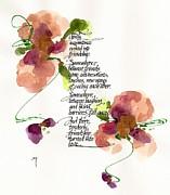 Gently Print by Darlene Flood