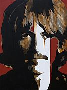 Beatles Mixed Media - Gently Weeps by Brad Jensen