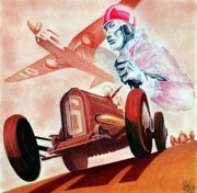Automobile Originals - Geo Ham Tribute by Lyle Brown