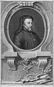 Manual Framed Prints - Geoffrey Chaucer, English Author And Poet Framed Print by Middle Temple Library