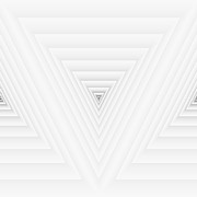 Toronto Digital Art - Geometric Composition From Triangle Numbers by Evan Steenson