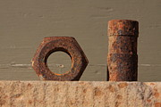 Ft Collins Photo Prints - Geometry in Rust Print by Cynthia Cox Cottam