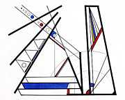 Photographer Drawings Originals - Geometry by Scott Shaver