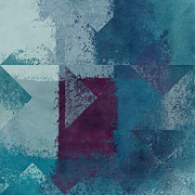 Textures Prints - Geomix 03 - s122bt2a Print by Variance Collections