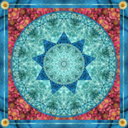 Sacred Geometry Posters - Geonine Poster by Bell And Todd