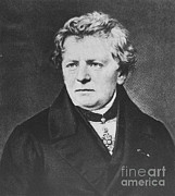 Georg Framed Prints - Georg Ohm, German Physicist Framed Print by Science Source