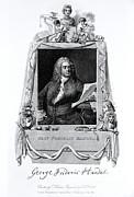 George Frideric Handel, German Baroque Print by Omikron