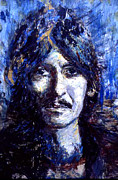 George Harrison Paintings - George by Grant Aspinall