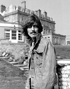 Harrison Photos - George Harrison Beatles Magical Mystery Tour by Chris Walter