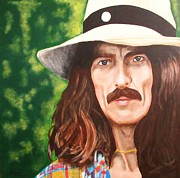 George Harrison Color Print by Keith Schwitzer