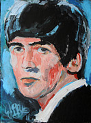 George Harrison Art - George Harrison  by Jon Baldwin  Art