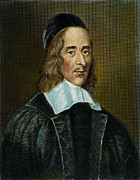 Cap Framed Prints - George Herbert (1593-1633) Framed Print by Granger
