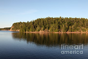 Killarney Provincial Park Framed Prints - George Lake, Canada Framed Print by Ted Kinsman