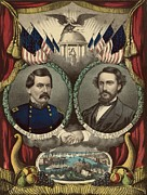 Candidate Photos - George Mcclellan 1826-1885 by Everett
