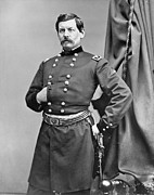 Brinton Framed Prints - GEORGE McCLELLAN (1826-1885) Framed Print by Granger
