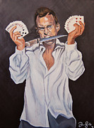 Seinfeld Paintings - George Oscar Bluth by Emily Jones