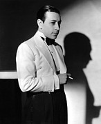 Lapels Framed Prints - George Raft, Ca. 1934 Framed Print by Everett