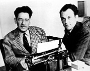 Kaufman Prints - George S. Kaufman And Moss Hart, Circa Print by Everett