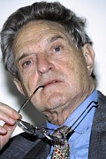 Broker Photos - George Soros, Hungarian-us Financier by Ria Novosti