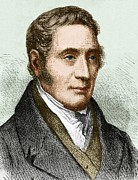 George Stephenson (1781-1848) Print by Sheila Terry