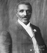 G.w. Carver Art - George W. Carver, African-american by Science Source