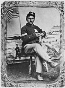 Tintype Prints - George W. Whitman Print by Granger