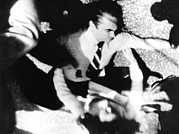 Racists Prints - George Wallace Was Shot Four Times Print by Everett