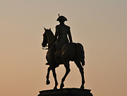 Art Museum Prints - George Washington at Sunrise Print by Bill Cannon